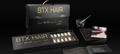BTX Botox hair con caviale e polvere d'oro